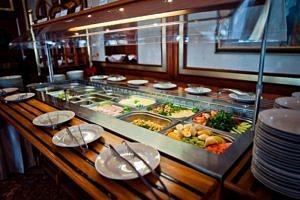 Питание в ресторане «Чаир».